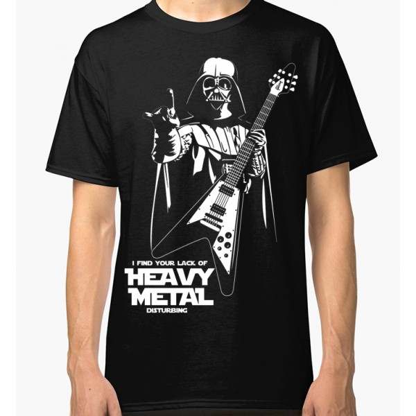 I Find Your Lack Of Heavy Metal Disturbing